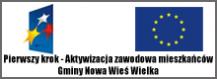 Pierwszy krok – aktywizacja zawodowa mieszkańców Gminy Nowa Wieś Wielka